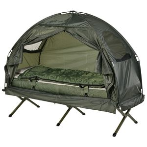 Portable Camping Cot Tent with Air Mattress for Sale in Lake View Terrace, CA