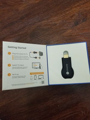 Chromecast new in box for Sale in Saint Pete Beach, FL