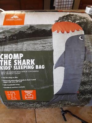 Kids sleeping bag ...my son is 11 used once for Sale in San Angelo, TX