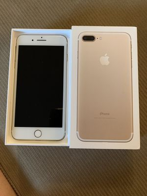iPhone 7plus excellent pristine condition... only one left (silver) unlocked just put your SIM card and activate for Sale in Centreville, VA
