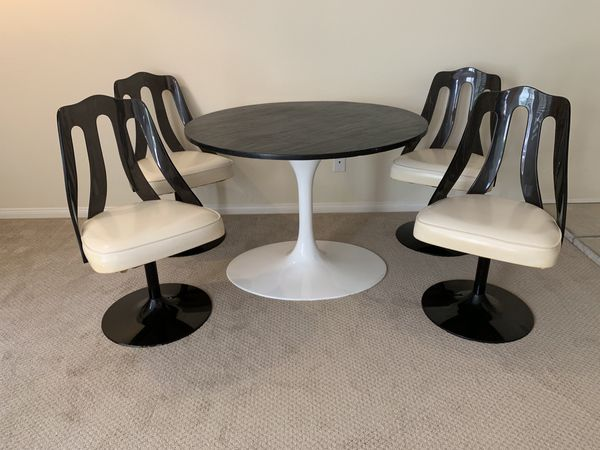 Retro Tulip table and 4 chairs