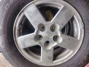 Tires and rims from a 02 Chevrolet equinox for Sale in Charles Town, WV