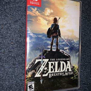 The Legend Of Zelda Breath Of The Wild for Sale in Hartford, CT
