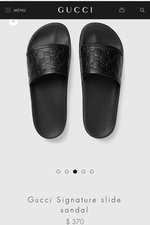 99c7af5ff Gucci slides leather for Sale in Anaheim, CA - OfferUp