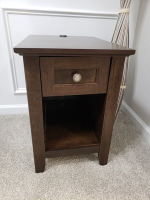 End Table - Mission Style w/Storage for Sale in Lithonia, GA