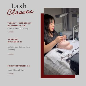 Eyelash Extension Courses for Sale in San Diego, CA