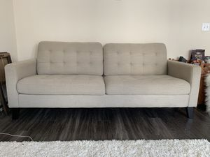 Tan Upholstered Sofa Couch for Sale in Houston, TX