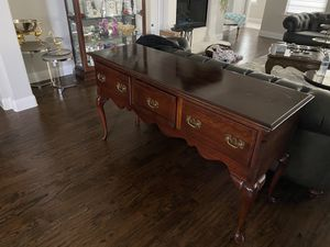 Antique Style Wood Table / Buffet for Sale in Frisco, TX