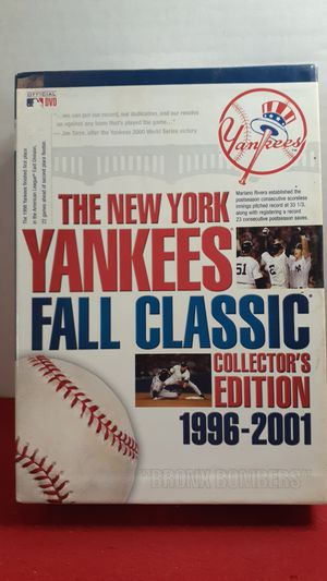 The New York Yankees fall classic collector's edition DVD set for Sale in Leavenworth, KS