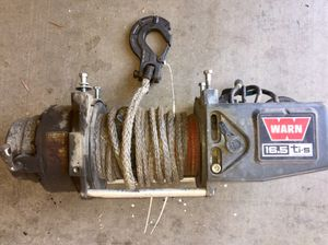 Warn 16.5 Ti winch (97740) and Wireless Remote kit for Sale in Glendale, AZ