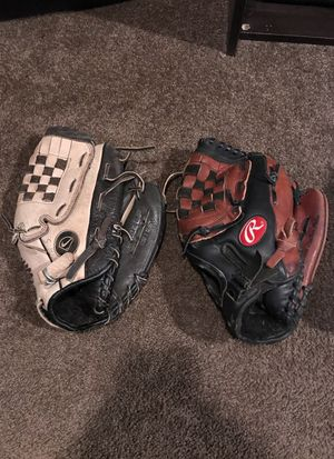 Nike and Rawlings baseball glove for Sale in Pittsburgh, PA