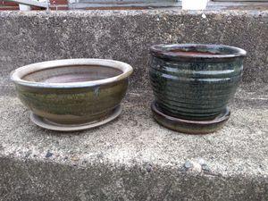 Ceramic plant pots for Sale in Tacoma, WA