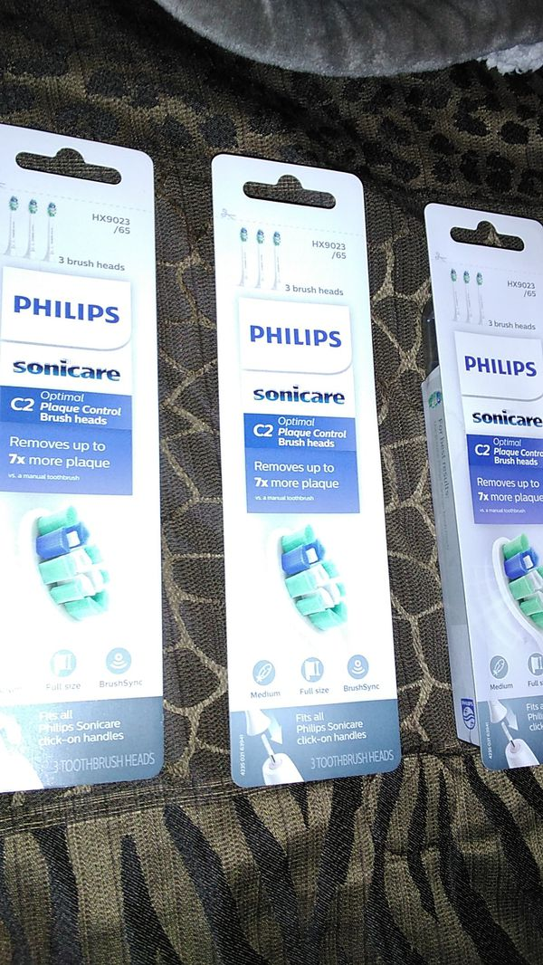 Philips sonicare tooth brush heads