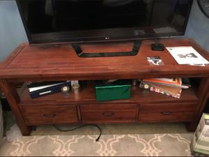 Tv stand from world market for Sale in Atlanta, GA
