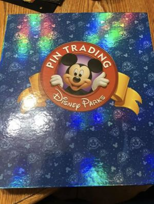Disney Parks Trading Pins in Binder 97 pins for Sale in Riverside, CA