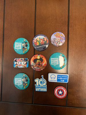 Disney - Button/Pins - Bag #17 for Sale in Davenport, FL