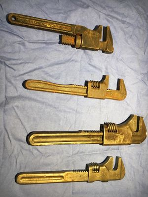 Vintage pipe wrenches for Sale in Freehold, NJ