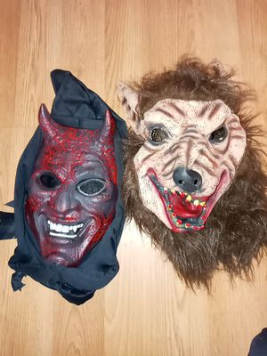 Face mask for Halloween for Sale in Philadelphia, PA