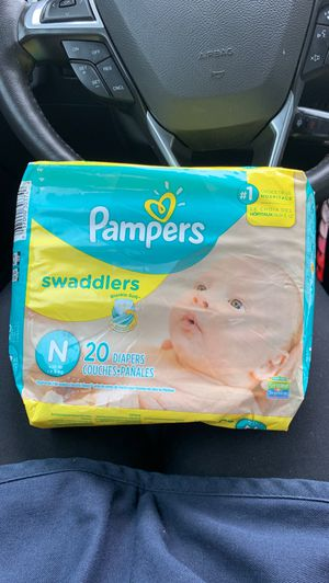 Pampers swaddlers size newborn diapers! BRAND NEW for Sale in Austell, GA