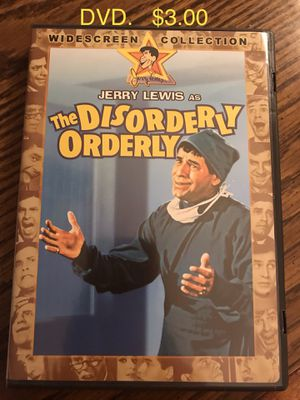 Disorderly Orderly DVD Jerry Lewis for Sale in Aurora, IL