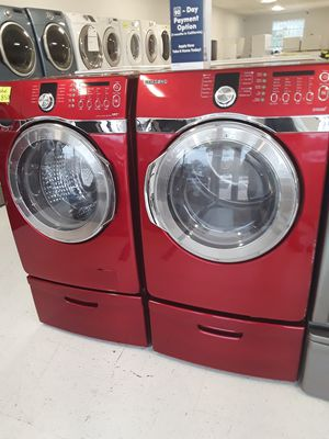 Samsung used washer and dryer good conditions 90 days warranty for Sale in Mount Rainier, MD