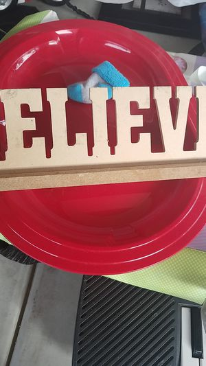 Believe sign for Sale in South Gate, CA