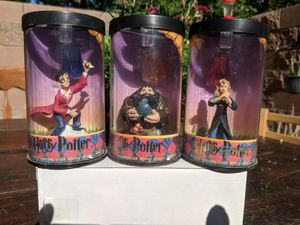 Set of three Harry Potter collectable figurines for Sale in Las Vegas, NV