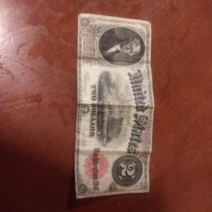 Jefferson $2 Bill for Sale in Albion, IA