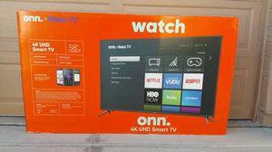 58 INCH 4K HDR ONN ROKU TV for Sale in Glendale, AZ