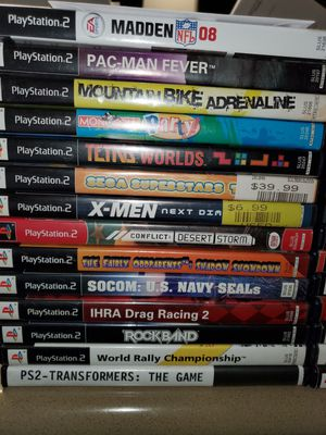 Sony Playstation 2 game LOT for Sale in Crowley, TX