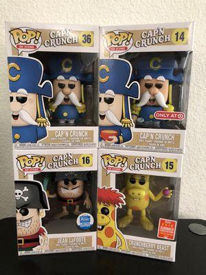 Funko Pop Ad Icon Captain Crunch Set for Sale in Cypress, CA