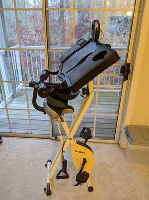 FitDesk Desk Exercise Bike and Office Workstation with Extension Kit and Massage Bar for Sale in Alexandria, VA