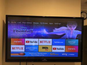 "Samsung TV 50"" 1080p for Sale in Whittier, CA"
