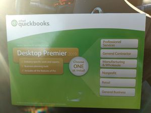 QuickBooks permerier desktop 2019 software for Sale in UNM, NM