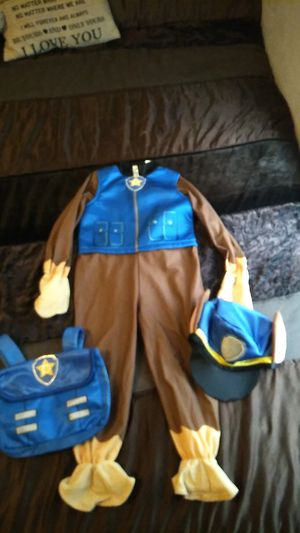Paw patrol chase costume for Sale in Fort Worth, TX