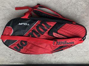 Wilson Tennis Bag and 2 tennis rackets (adult) for Sale in Arlington, VA