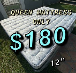 ‼️FREE DELIVERY💥 ‼️‼️🚚🚚 ✅✅ BRAND NEW PILLOW TOP MATTRESSES 💯COLCHONES NUEVOS PILLOW TOP 💯 TWIN $120 ❌ $160 With Box Spring💥 QUEEN MATTRESS for Sale in Orange,  CA