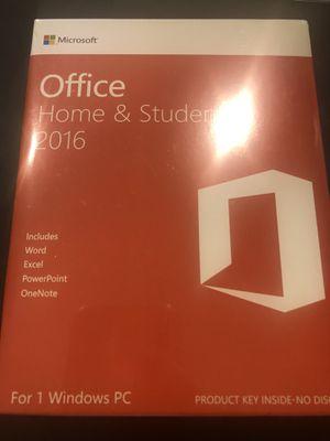 Microsoft Office Home & Student 2016 New for Sale in Miami, FL