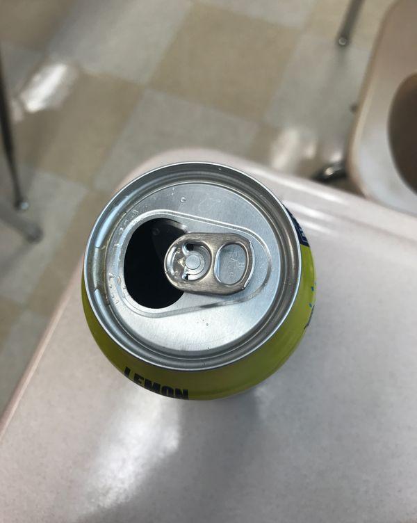 Open Brisk, not drinken yet