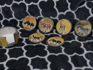 Authentic African Coasters for Sale in IND HBR BCH, FL