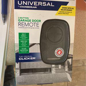 Brand New Universal Garage Door Remote Control for Sale in Evans, GA