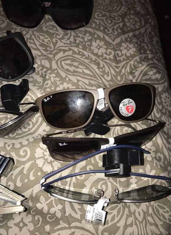 Ray bans and Tahari Sunglasses