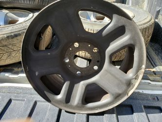 Black 15 Inch Rims For Sale $25 for Sale in Columbia,  SC