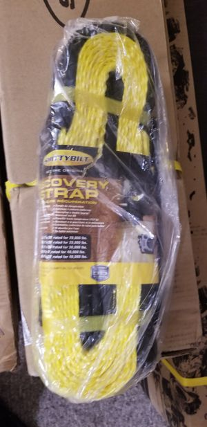smittybilt recovery strap for Sale in Imperial Beach, CA