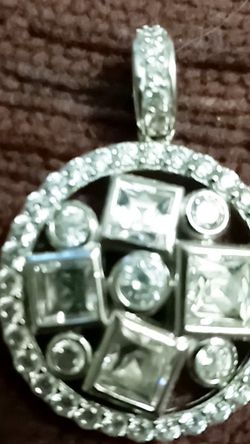 Bella Luce Diamond Pendant Simulant for Sale in Medway,  MA