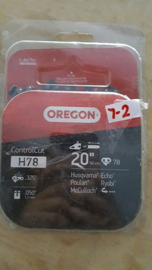 Oregon 20 in. Chainsaw Chain for Sale in Las Vegas, NV