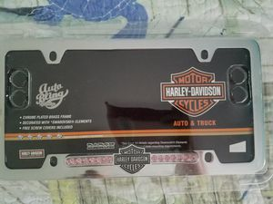 Harley Davidson plate cover for Sale in North Lauderdale, FL