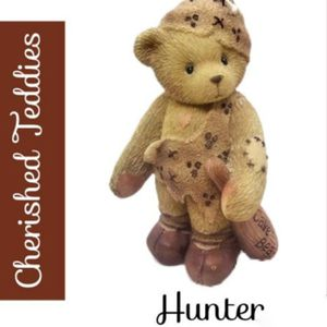 "Cherished Teddies ""Hunter"" Home Decor Figurine. SHIPPING ONLY!!! for Sale in Colorado Springs, CO"