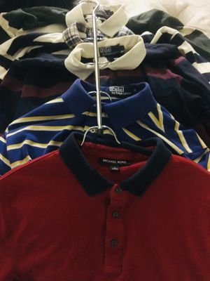 4 LARGE POLO shirts 1 MICHAEL KORS for Sale in Phoenix, AZ