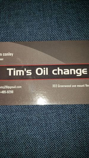 Tim's mobile oil change for Sale in Mount Vernon, OH